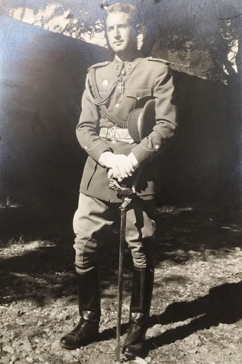 El Alférez Manolo Maristany