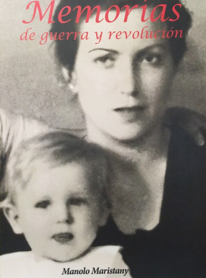 1936 - Manolo y su madre