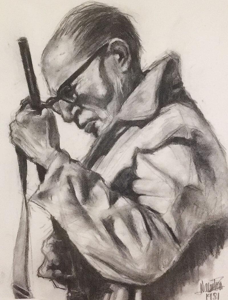 Retrato de Manolo a su padre (1981)